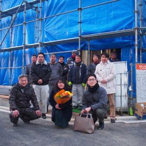 松山市で新築*M様ファミリー上棟