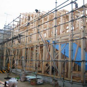 松山市で新築😊N様ファミリー上棟💐