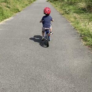 息子の自転車練習🚲